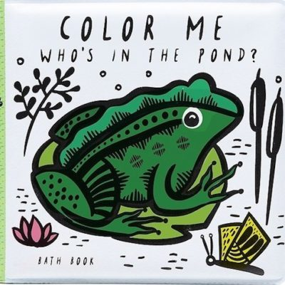 Wee Gallery Badboek Color Me Pond