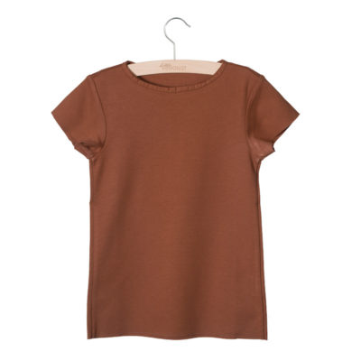 Little Hedonist Summer Shirt Isabel Mocha