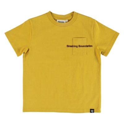 Molo T-shirt Roxo Cadmium Yellow