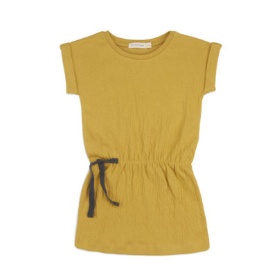 Phil & Phae Blouson Dress Dusty yellow