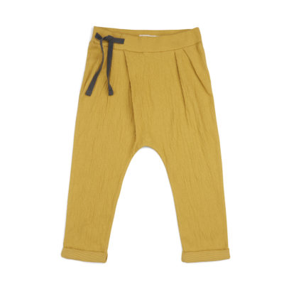 Phil & Phae Pleated harem pants dusty yellow