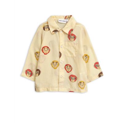 Mini Rodini Monkey woven shirt