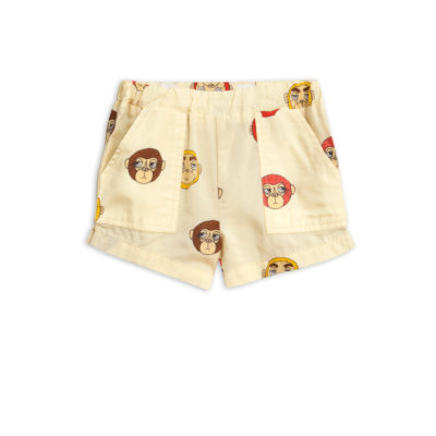 Mini Rodini Monkey woven shorts