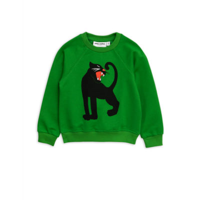 Mini Rodini Panther Sweatshirt Green