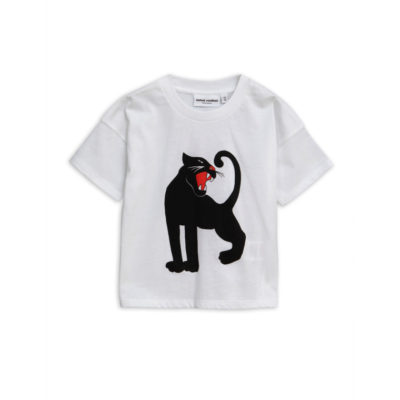 Mini Rodini Panther shirt white