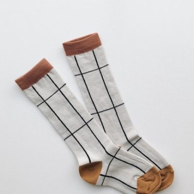 Monkind Grid Knee Socks
