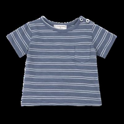 1+ in the family Luca t-shirt indigo/white