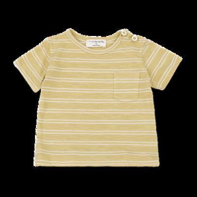 1+ in the family Luca t-shirt raffia/white