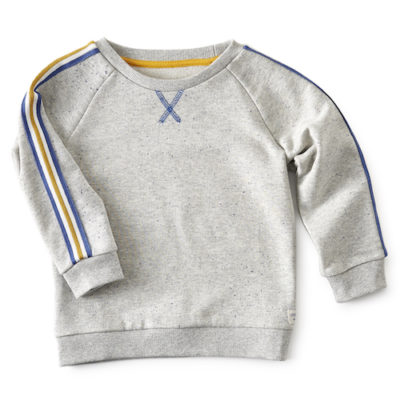 Little Label Sweater Grey Neppy