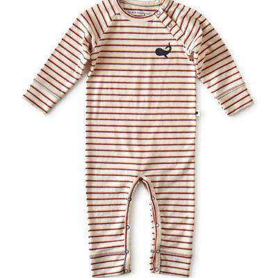 Little Label Suit Blue Orange Stripe
