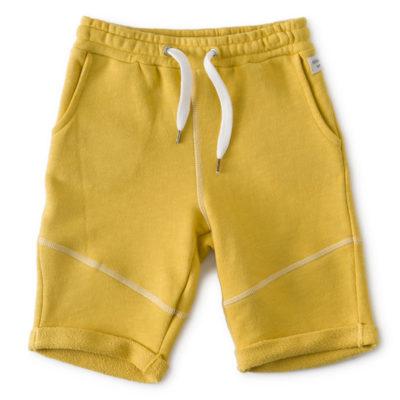 Little Label Shorts Warm Yellow