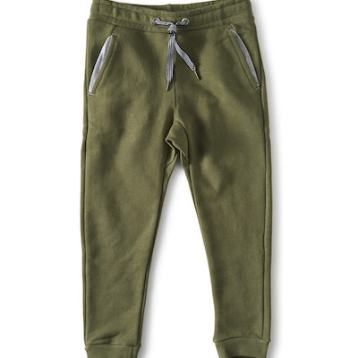 Little Label Sweat Pants Olive Green