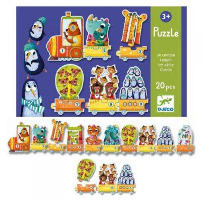 Djeco Puzzel Trio I Count