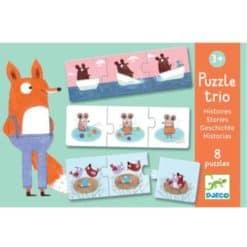 Djeco puzzle trio stories