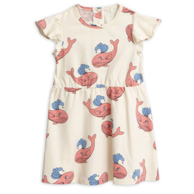 mini-rodini-whale-wing-dress-pink