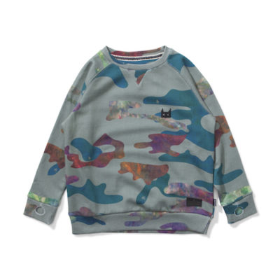 Munsterkids Sweater Liquid Camo