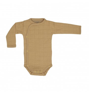 Lodger Romper Solid Honey Longsleeve
