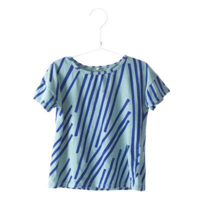 Lotiekids Shirt Stripes Turquoise
