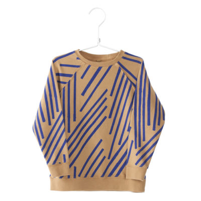 Lotiekids Sweatshirt Stripes Camel