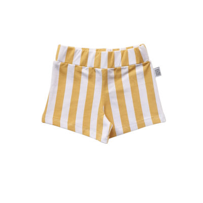 One Day Parade Yellow Stripe Shorts