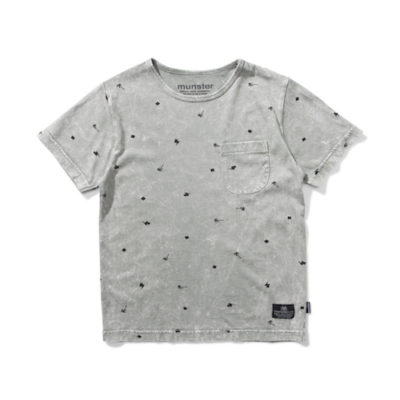 Munsterkids Shirt Palm Punk Olive
