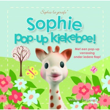 Sophie de giraf pop-up boekje: Kiekeboe!