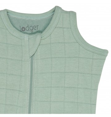Lodger Hopper slaapzak Solid Silt Green