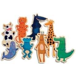 Djeco Magneten Crazy Animals