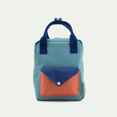 Sticky Lemon Small Backpack envelope denim blue