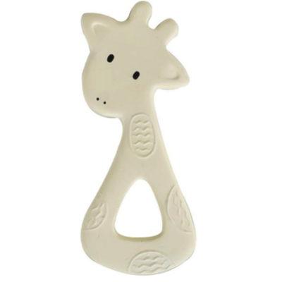 Bijtring natuurrubber Giraf - Tikiri