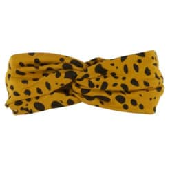 CarlijnQ Spotted animal twisted headband