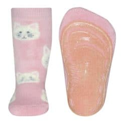 Ewers anti slipsok katten oudroze