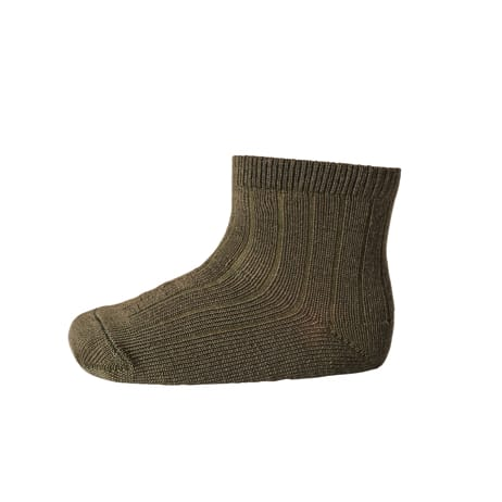 mp Denmark ankle wool rib dark army