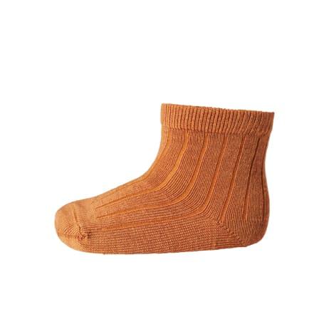 mp Denmark ankle wool rib dark honey