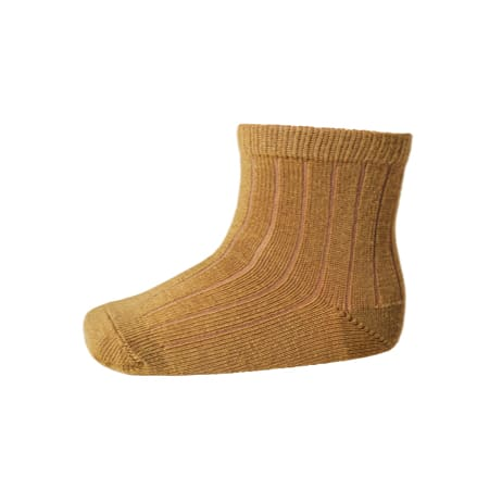 mp Denmark ankle wool rib mustard