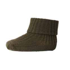 mp Denmark babysokje wool rib dark army