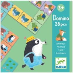 Djeco Domino Bosdieren