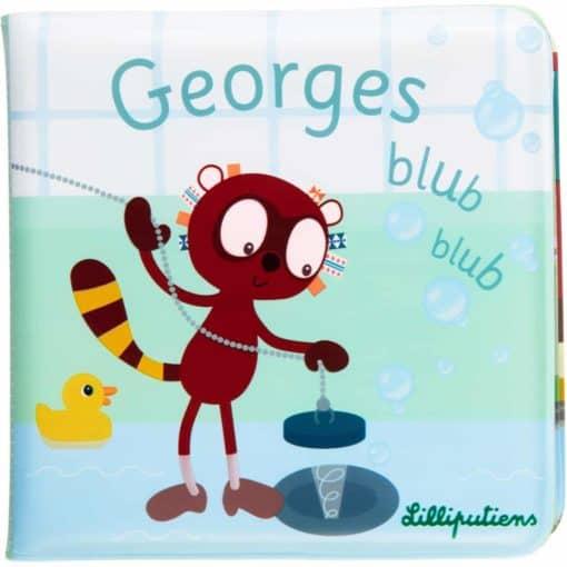 Lilliputiens Georges Blub Blub Badboek