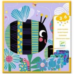 Djeco Kraskaarten Allemaal Beestjes