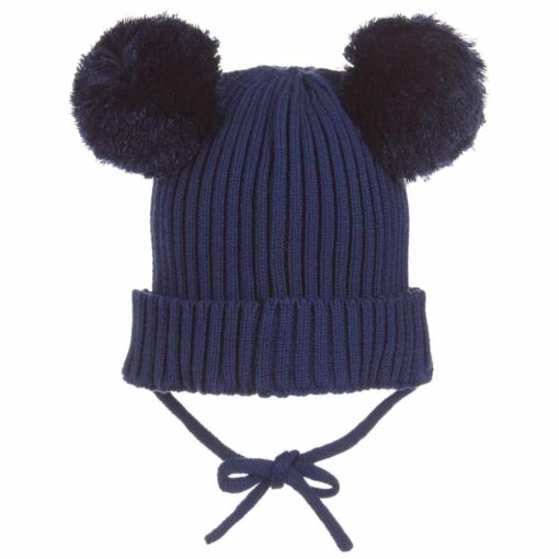 Mini Rodini Ear Hat Navy
