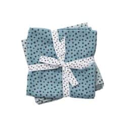 Done by Deer Swaddle Happy Dots blue