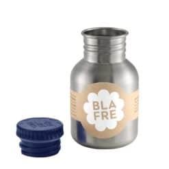 Blafre drinkfles RVS blauw 330 ml