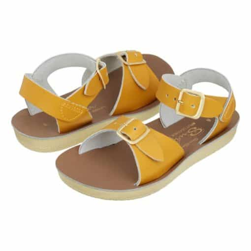 Salt-Water sandals surfer mustard
