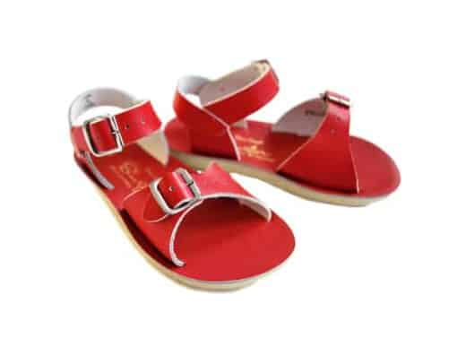 Salt-Water sandals surfer red