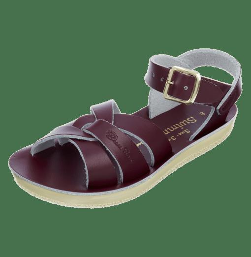 Salt-Water sandals swimmer Claret