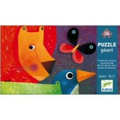 Djeco reuzenpuzzel dierenparade