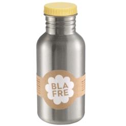 Blafre drinkfles RVS Lichtgeel 500ml