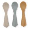Konges Slojd 3 pack spoons Warm Grey