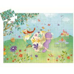 Djeco Puzzel De bloemenprinses
