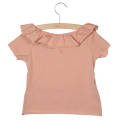 Little Hedonist T-shirt Amber Cameo Rose